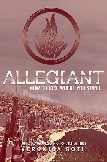 Allegiant Book Black Cover : Allegiant the final book in divergent series