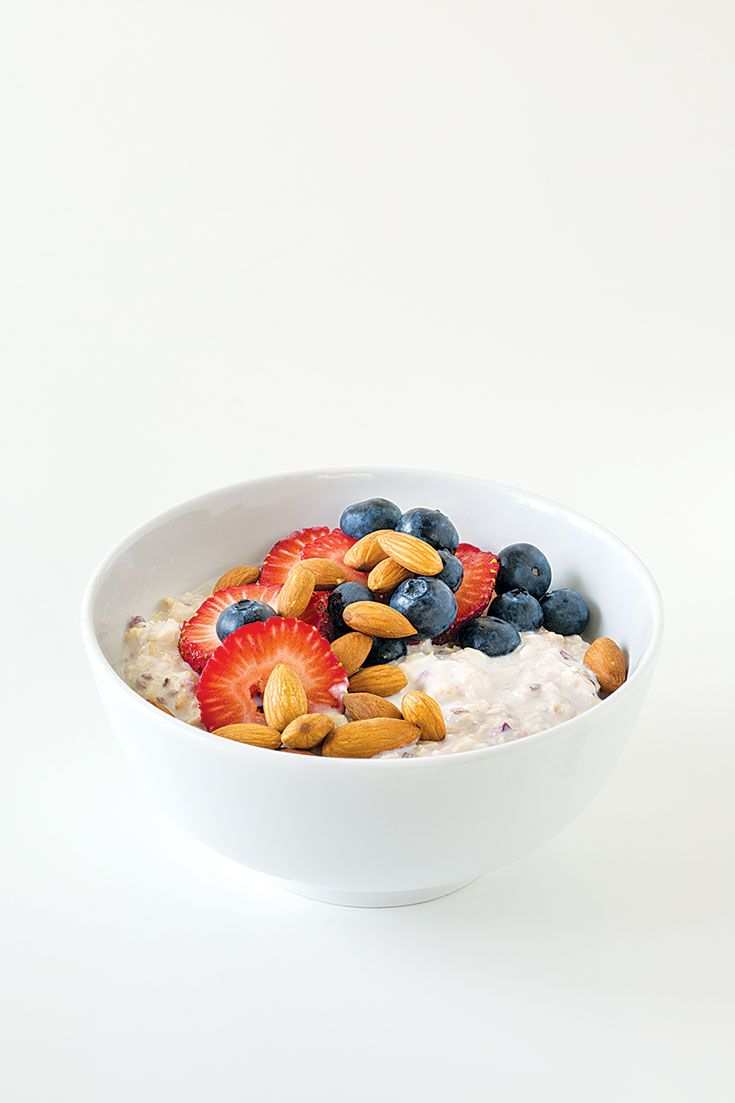 Overnight Oatmeal: Make this recipe tonight for a portable on-the-go breakfast. Will keep up to three days in your fridge.