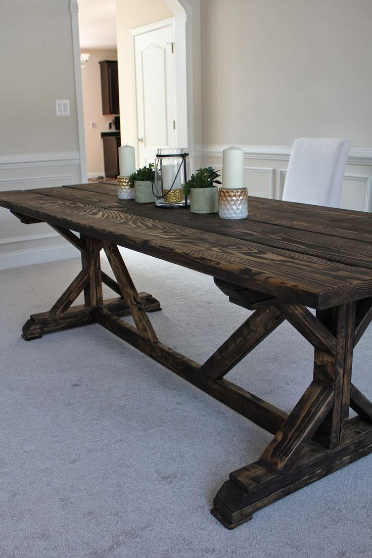 25 best ideas about Ana white farm table on Pinterest