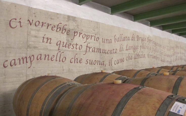 Enzo Boglietti Winery in La Morra, Piedmont, Italy.  Project by Studio Boglietti