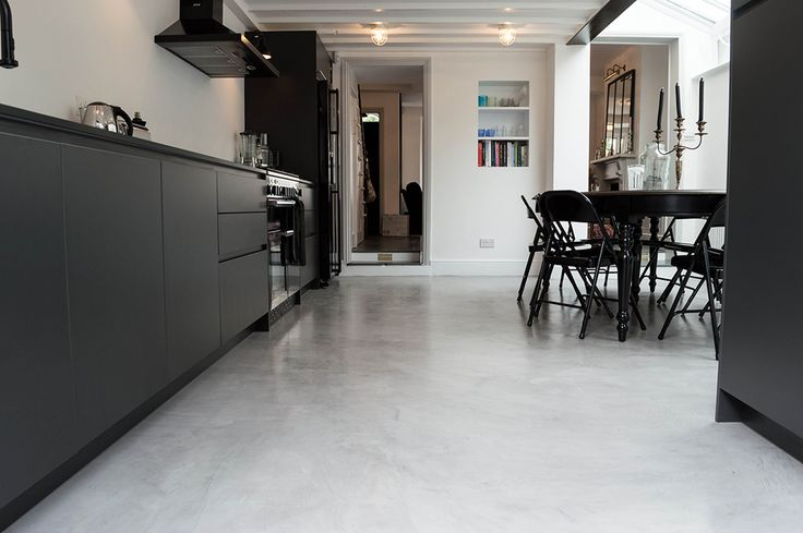 Concrete floor by The Resin Floor Company