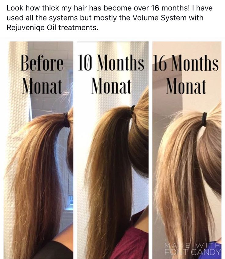 Want thicker hair??? Monat is amazing. All natural and guaranteed! Thicker fuller hair