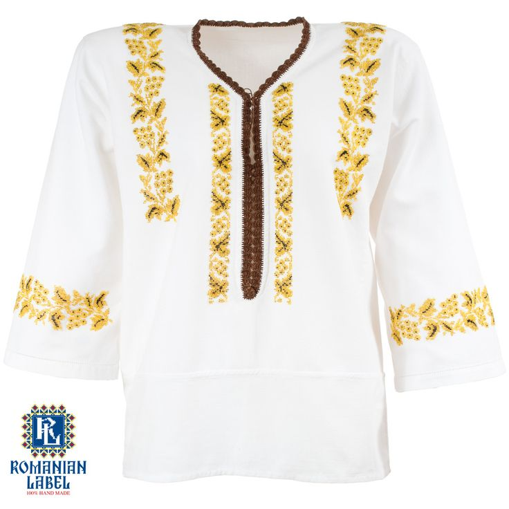 $141This vintage traditional blouse is about 30 years old. The ornamental composition is made out of yellow and black beads.