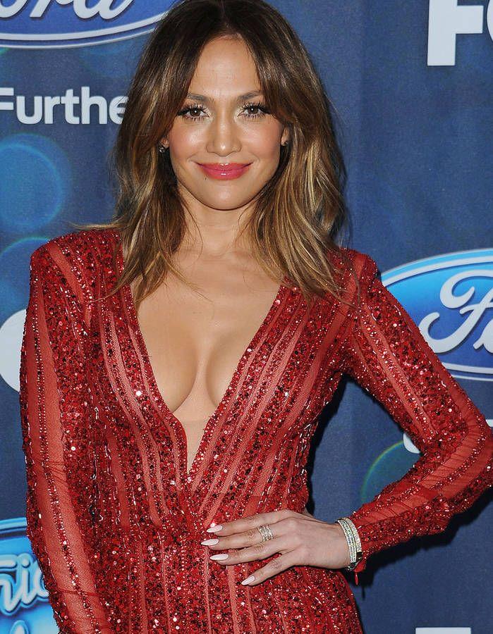 Jennifer Lopez, les cheveux courts