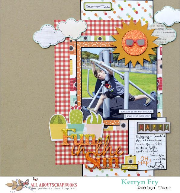 Fun in the Sun with Simple Stories Summer Days by Kerryn Fry