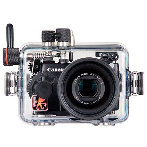 Ikelite Underwater Housing for Canon G7X - 614607 Ikelite Product Number 6146.07 This sophisticated housing provides everything you need to get creative with this powerful compact camera! About The Ca