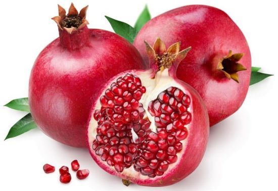 Pomegranates are known mostly for curing the problems related to heart and for maintaining effective and healthy blood circulation. Other health benefits include cure of stomach disorders, cancer, dental care, osteoarthritis, anaemia and diabetes.