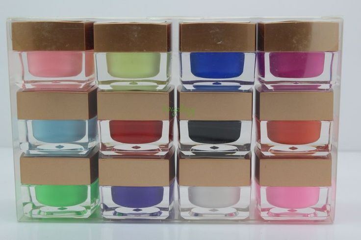 Уф-гель 12 цвет ногтей являются выдерживает с геля цвета uv гель лак для ногтей устанавливает строителей и красочные советы по красоте глазури # гель 12-1