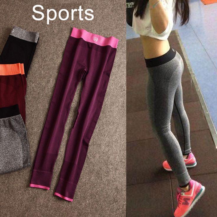 Женщины фитнес-йога йога женские брюки студия брюки лайнера йога брюки женские спортивные леггинсы deportiva женские модные спортивные брюки