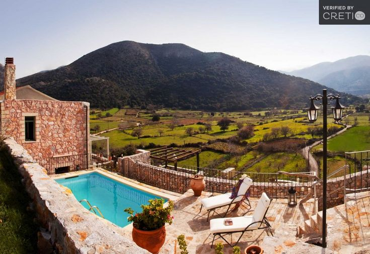 Holiday Villa in Chania, Crete - Mountain paradise with private pool