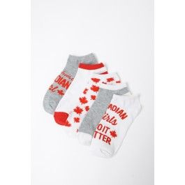 Show off your Canadian pride in this vintage inspired Canada Day socks.  Find them at Urban Planet.