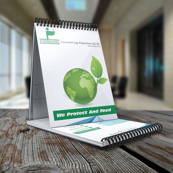 Forward Crop Protection şirketine hazırlanan Bloknot Tasarımı