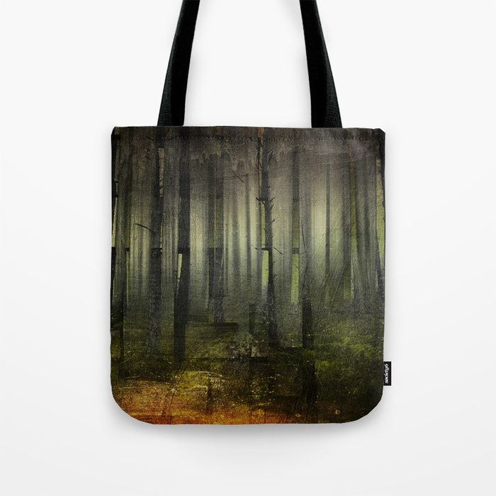 Why am I here Tote Bag by HappyMelvin. #nature #darkforest #forests #original #bags #totebag