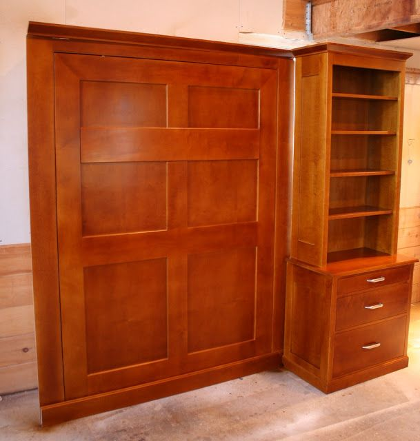 East Side Wall Bed and Office - Springhouse Shop & Studio