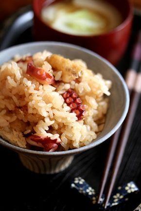 ジューシーたこ飯】 | 美肌レシピ