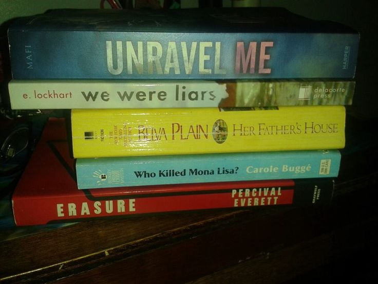 My babies we were liars book cover books