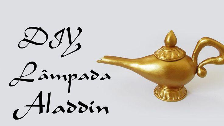 DIY: Como Fazer a Lâmpada do Aladdin (Genie's Lamp Tutorial - Disney)