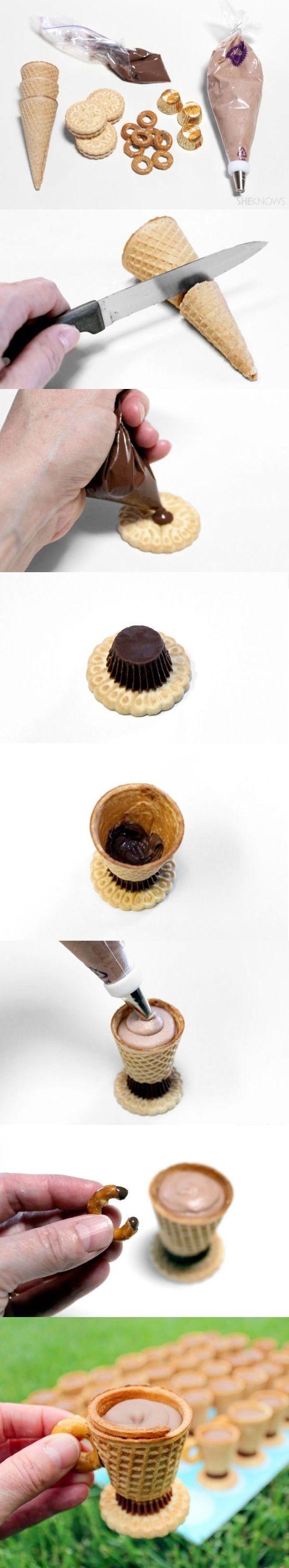 Mini-cono con galletas...