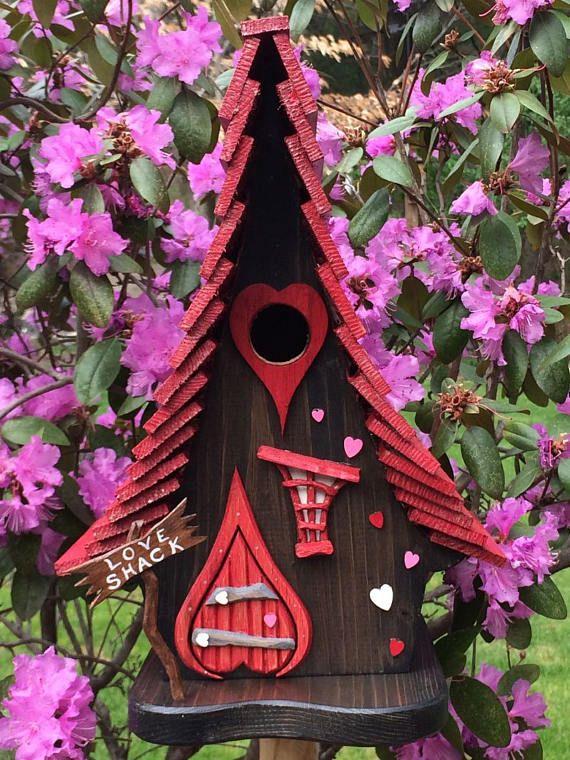 "ArtisTree ""The Love Shack"" Bird House"