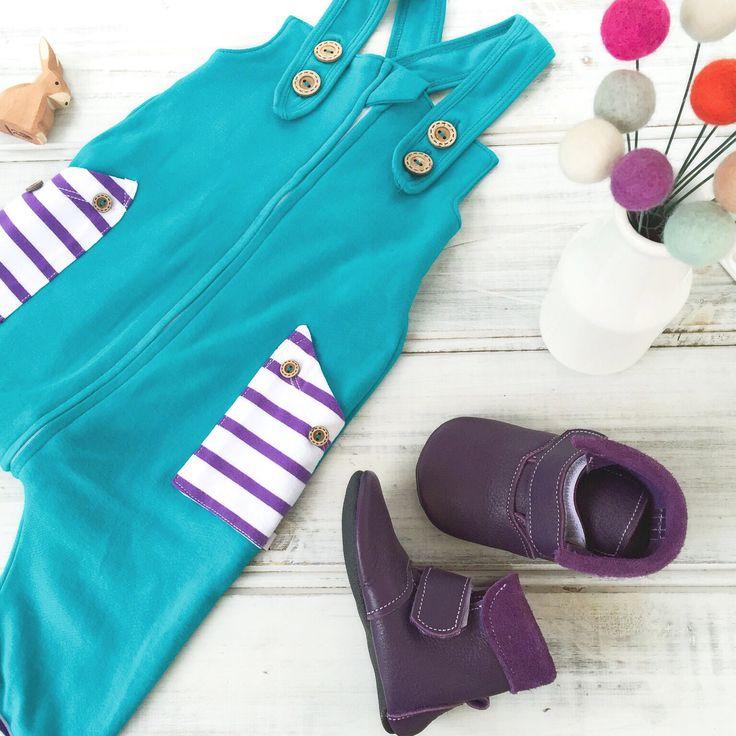 Baby zip overalls unisex baby shower gift