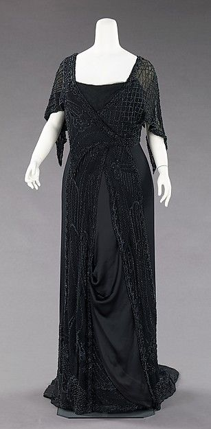 Evening Mourning Dress 1910-1912 The Metropolitan Museum of Art