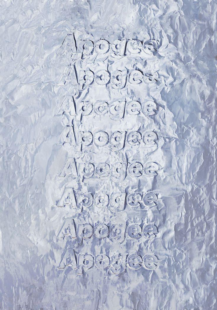 HEGEMONIC 2 — ApogeeTypography, Imprint on aluminum paper — October 2015