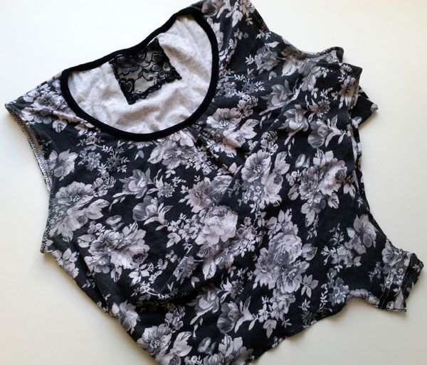 The easy diy t-shirt bodysuit - Confessions of a Refashionista