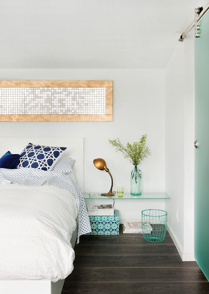 Maison bain de lumi re turquoise photos and deco for Deco slaapkamer chalet