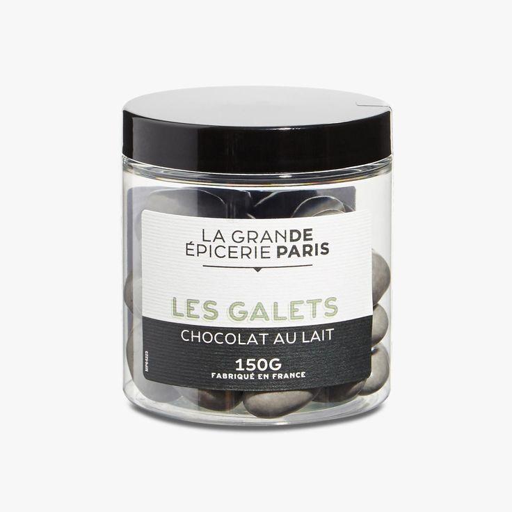 Amandes torréfiées enrobées de chocolat au lait et de sucre - La Grande Epicerie de Paris - Find this product on Bon Marché website - La Grande Epicerie de Paris