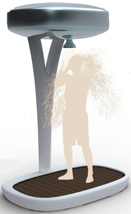 Eco Shower Contributes the Environment by Saving Water and Energy.