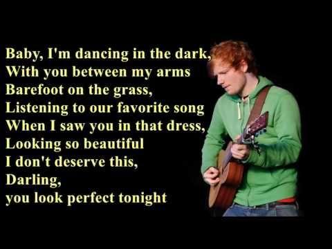 Perfect Ed Sheeran Lyrics Youtube Ed Sheeran Lyrics Ed Sheeran Lyrics Perfect Best Old Songs