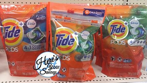 New Stack On Tide PODS at Target + New Coupon! http://heresyoursavings.com/new-stack-tide-pods-target-new-coupon/