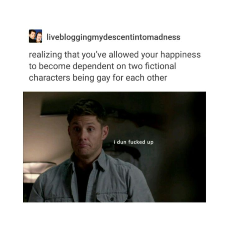 Supernatural destiel