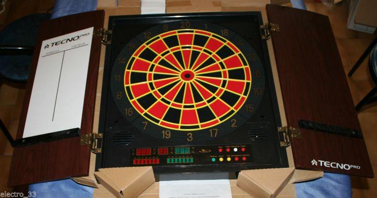 Coffret Jeu 12 Flechettes Cible Electronique Parlante Meuble Neuf in Jeux, jouets, figurines, Jeux de café | eBay @44,90€