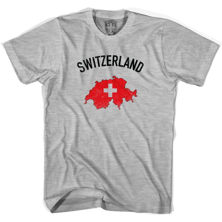 Switzerland Flag & Country T-shirt
