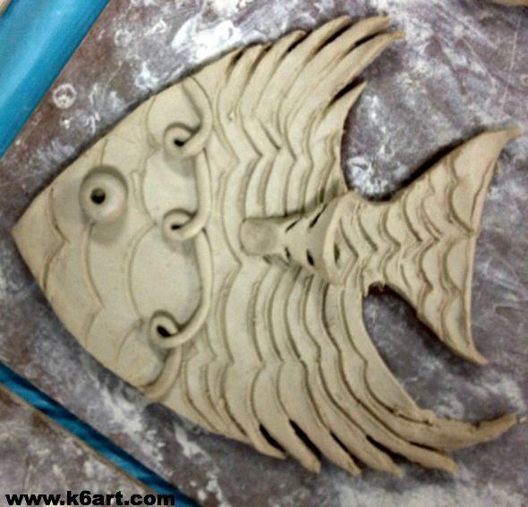 Billedresultat for fish clay relief