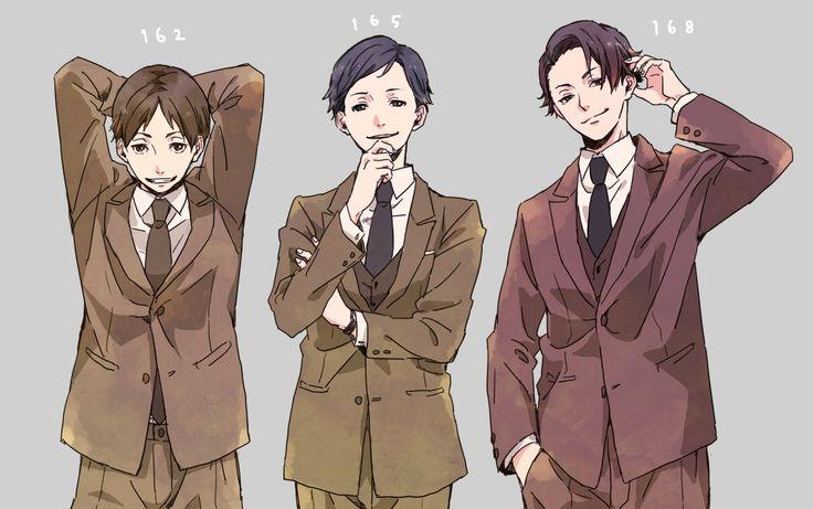 Hatano, Jitsui, and Miyoshi  Twitter: https://twitter.com/osatouhaamai  (Please support the original artist!)