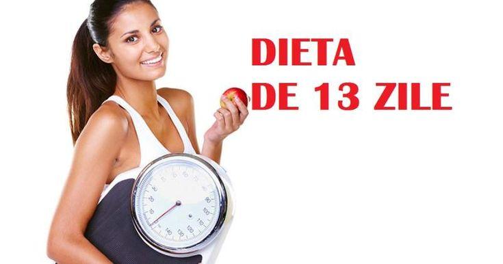 """Dieta de 13 zile este una dintre cele mai eficiente diete. A fost numită de către specialiși """"dieta anului 2018"""".  Cu dieta de 13 zile poți slăbi în"""