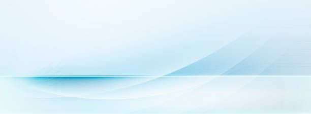 light blue and white motion lines on blurred light blue background