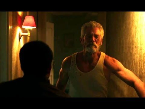 DON'T BREATHE Movie Clip - Hallway Tension (2016) Stephen Lang Horror HD - YouTube