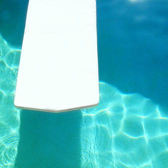 Turquoise Pool Photography  Swimming Pool Blue by BeachBumChix, $15.00