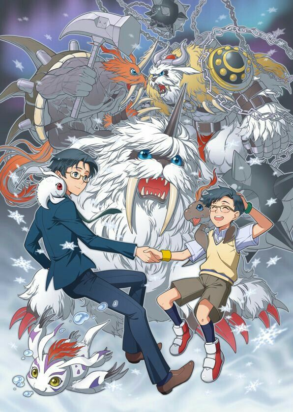 Joe | Digimon • Art by Eclosion