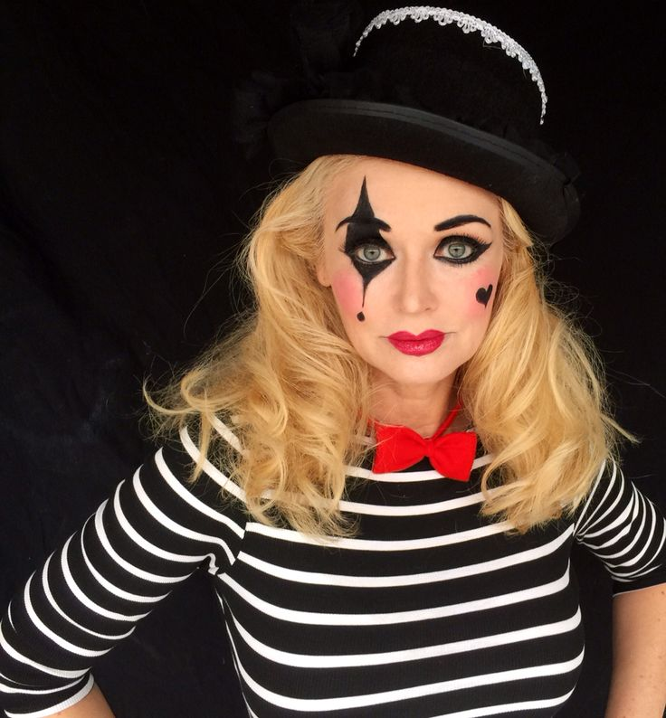 Mime makeup by Kathy Hartsell Jacobs