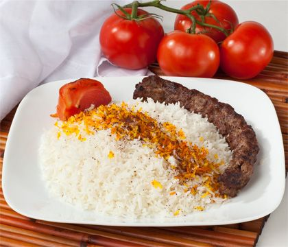 Kubideh Rice Traditional Dishes - Traditional Persian Dishes to Take Out, Catering