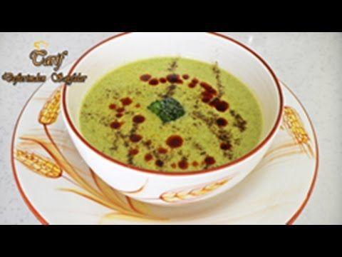 Kremalı Brokoli Çorbası - YouTube