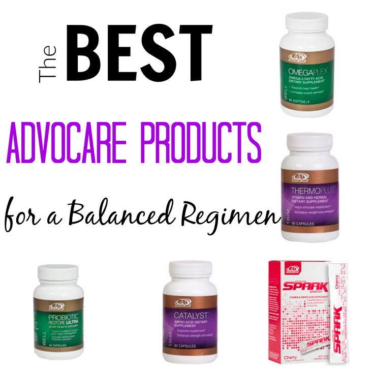 The Best AdvoCare Products for a Balanced Regimen