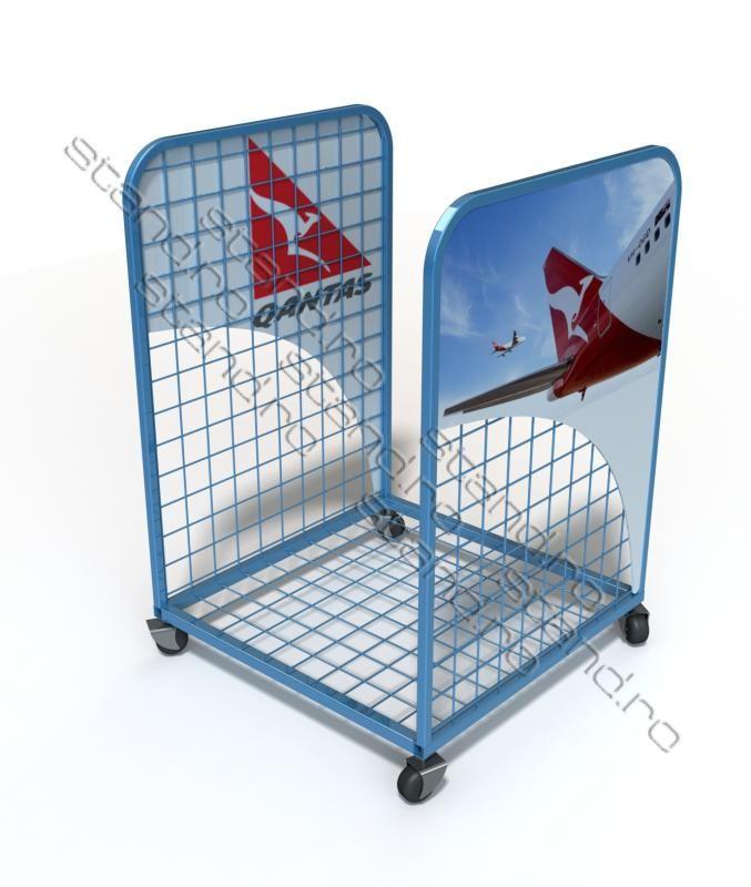 Carucior pentru transport bagaje