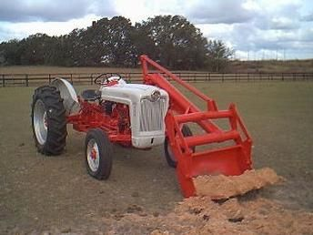 how to use a front end loader on a tractor