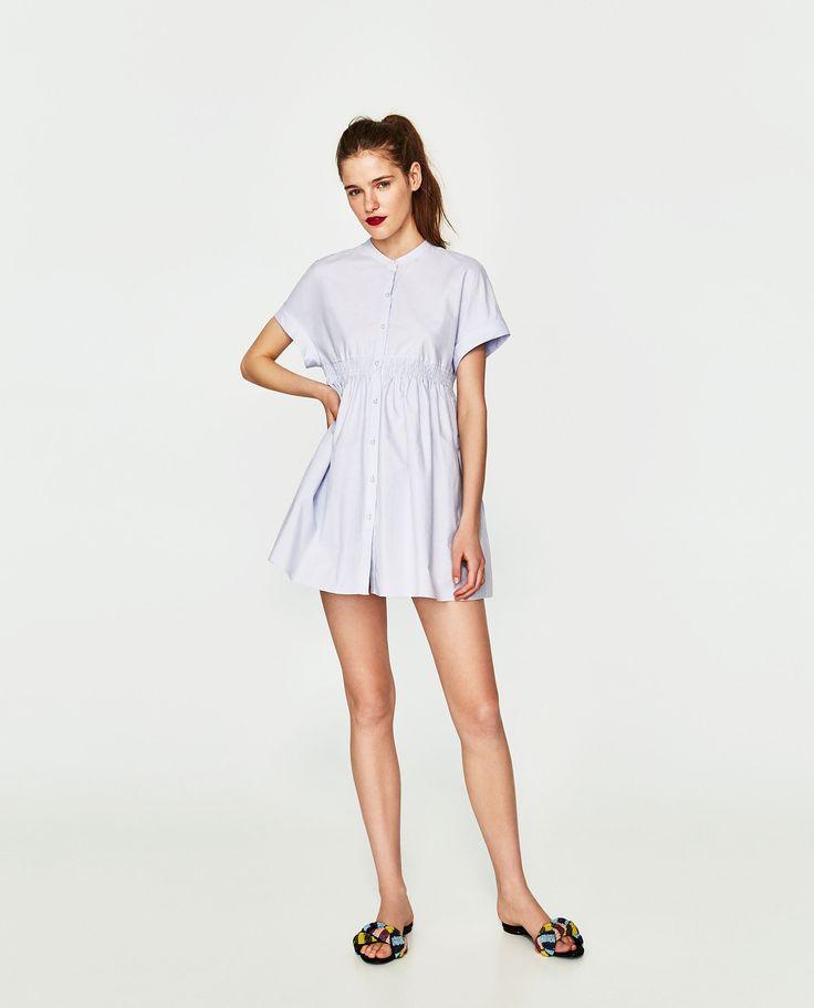 ZARA - WOMAN - PEARL BUTTONS DRESS