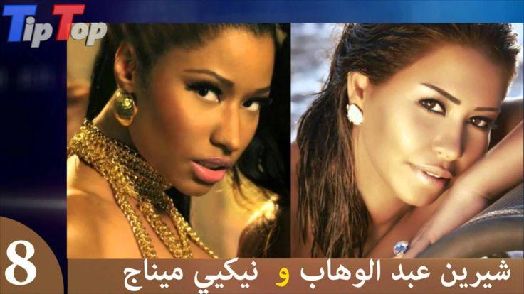 فنانات عربيات يشبهن أجنبيات 2015 Hoop Earrings Earrings Rich
